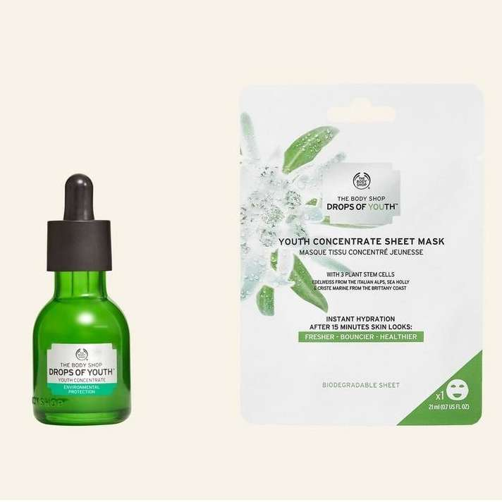 Drops of Youth Concentrate 50 ml & Drops of Youth Youth Concentrate Sheet Mask