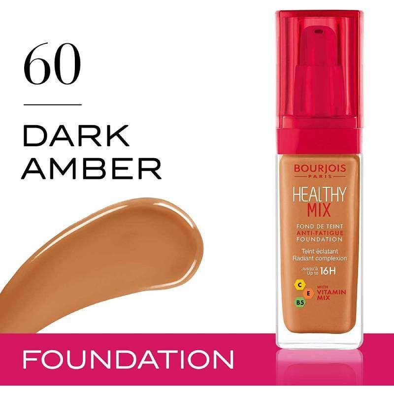 Bourjois Healthy Mix Foundation 60 Dark Amber